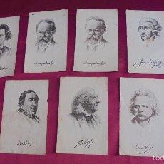 Coleccionismo Cromos antiguos: 7 ANTIGUOS CROMOS CHOCOLATES ESTEVA. PALMA DE MALLORCA. UNICOS EN TODOCOLECCION.. Lote 59685695