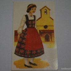 Collectionnisme Cartes à collectionner anciennes: CROMO DE:AUSTRIA,(DESPEGADO),Nº 129,AÑO 1977,DEL ALBUM,TRAJES TIPICOS,DE MAGA. Lote 59839916