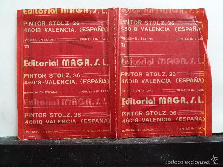 Coleccionismo Cromos antiguos: LOTE DE 26 SOBRES DE LA SERIE V EDITORIAL MAGA EN PAREJAS DE 2 UNIDADES SIN ABRIR - Foto 6 - 60374379