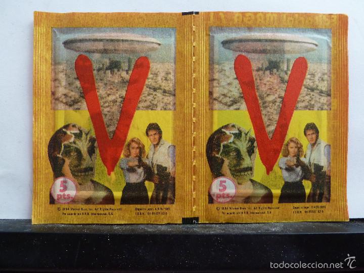 Coleccionismo Cromos antiguos: LOTE DE 26 SOBRES DE LA SERIE V EDITORIAL MAGA EN PAREJAS DE 2 UNIDADES SIN ABRIR - Foto 7 - 60374379