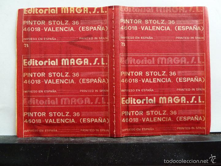 Coleccionismo Cromos antiguos: LOTE DE 26 SOBRES DE LA SERIE V EDITORIAL MAGA EN PAREJAS DE 2 UNIDADES SIN ABRIR - Foto 16 - 60374379