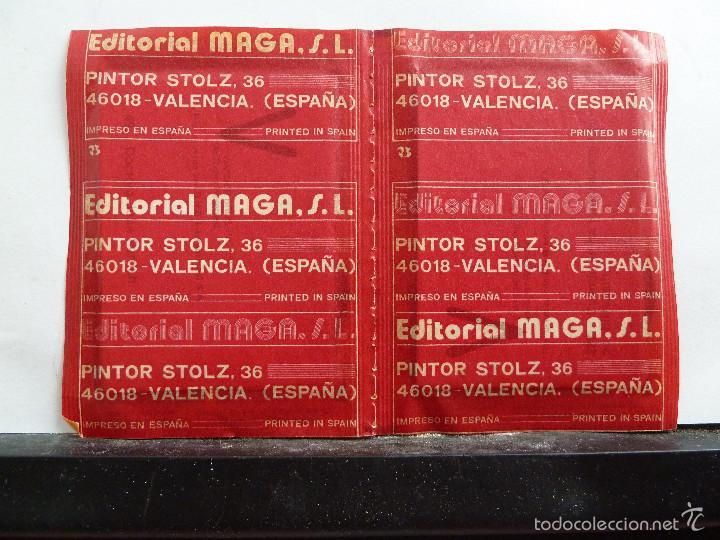 Coleccionismo Cromos antiguos: LOTE DE 26 SOBRES DE LA SERIE V EDITORIAL MAGA EN PAREJAS DE 2 UNIDADES SIN ABRIR - Foto 24 - 60374379