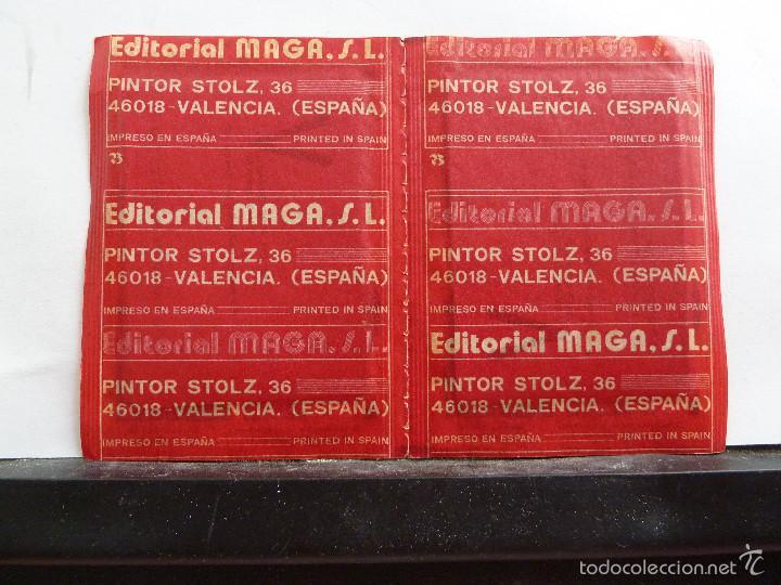 Coleccionismo Cromos antiguos: LOTE DE 26 SOBRES DE LA SERIE V EDITORIAL MAGA EN PAREJAS DE 2 UNIDADES SIN ABRIR - Foto 26 - 60374379
