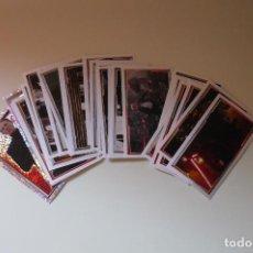 Coleccionismo Cromos antiguos: LOTE DE CROMOS STAR WARS EDITORIAL TOPPS. Lote 61984000