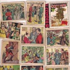 Coleccionismo Cromos antiguos: LOTE DE 8 CROMOS DEL COYOTE EN HURACÁN SOBRE MONTERREY. Lote 62443500