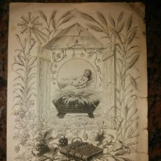 Coleccionismo Cromos antiguos: ESTAMPA CROMO RELIGIOSO DEL AÑO 1888. PÁRROCO DE SANTOLEA. Lote 62640974