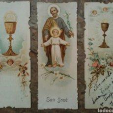Coleccionismo Cromos antiguos: CROMOS RELIGIOSOS TROQUELADOS POR EL CONTORNO, AÑO 1902. Lote 63358300