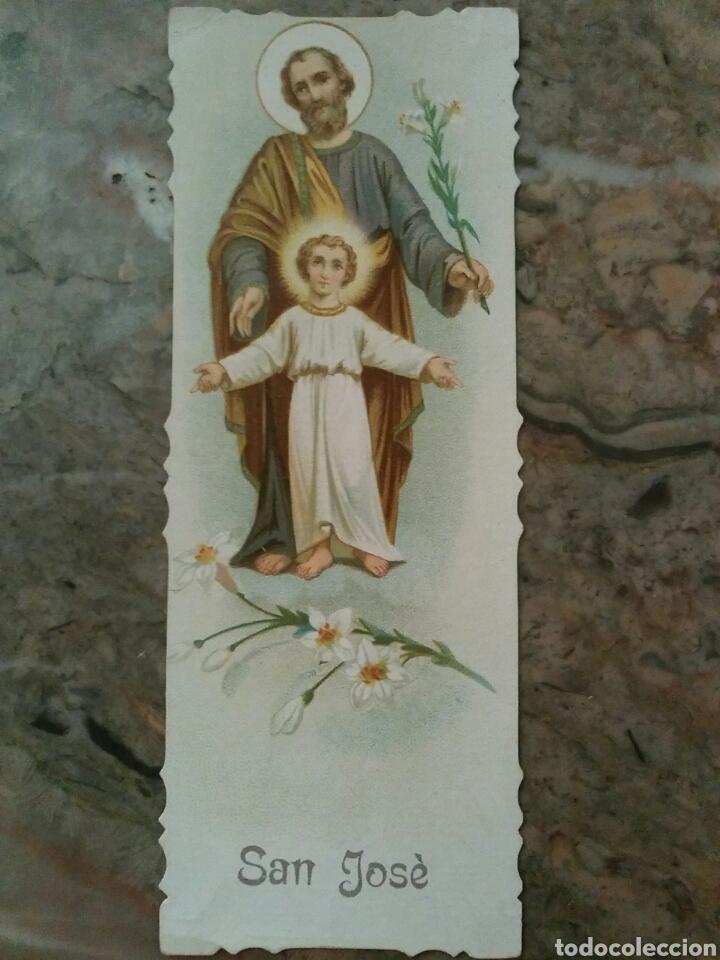 Coleccionismo Cromos antiguos: Cromos religiosos troquelados por el contorno, año 1902 - Foto 3 - 63358300