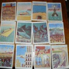Coleccionismo Cromos antiguos: EL DOCTOR FAUSTH EN EL AÑO 2000. CHOCOLATES JUNCOSA. LOTE 3-9-10-11-12-13-14-16-17-18-22-24.. Lote 64510367