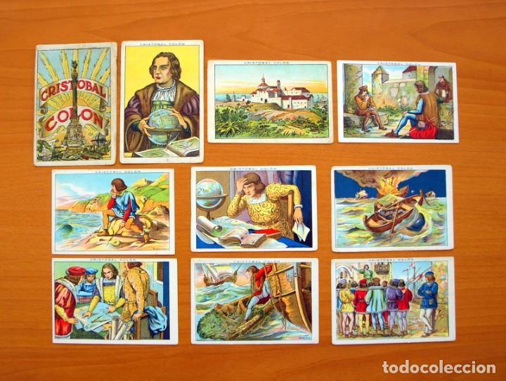 Coleccionismo Cromos antiguos: Cristobal Colón - Chocolates Juncosa - Colección completa 150 cromos - Ver fotos interiores - Foto 2 - 64652691
