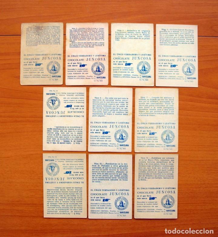 Coleccionismo Cromos antiguos: Cristobal Colón - Chocolates Juncosa - Colección completa 150 cromos - Ver fotos interiores - Foto 3 - 64652691