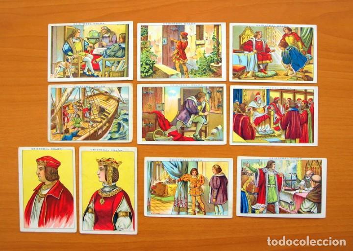 Coleccionismo Cromos antiguos: Cristobal Colón - Chocolates Juncosa - Colección completa 150 cromos - Ver fotos interiores - Foto 4 - 64652691