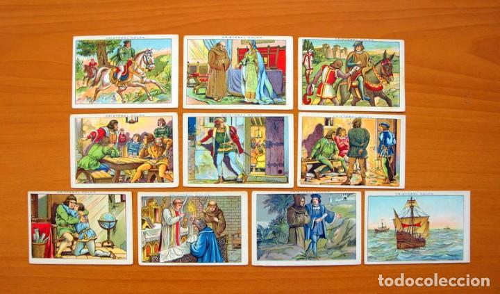 Coleccionismo Cromos antiguos: Cristobal Colón - Chocolates Juncosa - Colección completa 150 cromos - Ver fotos interiores - Foto 6 - 64652691