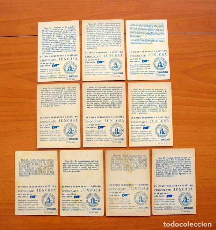 Coleccionismo Cromos antiguos: Cristobal Colón - Chocolates Juncosa - Colección completa 150 cromos - Ver fotos interiores - Foto 7 - 64652691