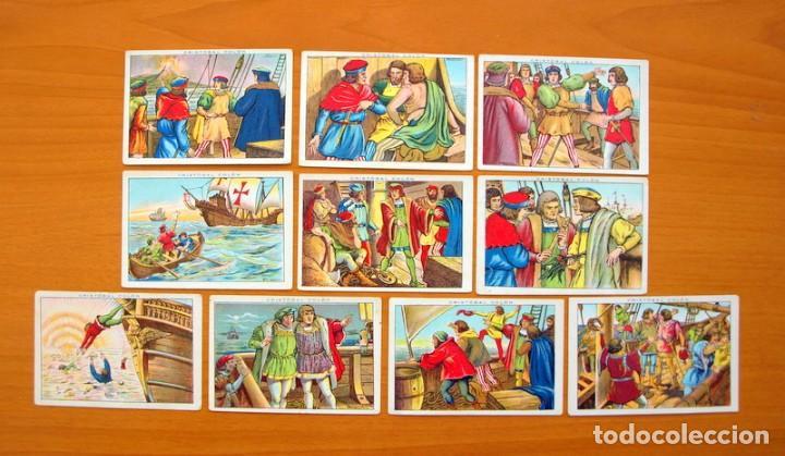 Coleccionismo Cromos antiguos: Cristobal Colón - Chocolates Juncosa - Colección completa 150 cromos - Ver fotos interiores - Foto 8 - 64652691