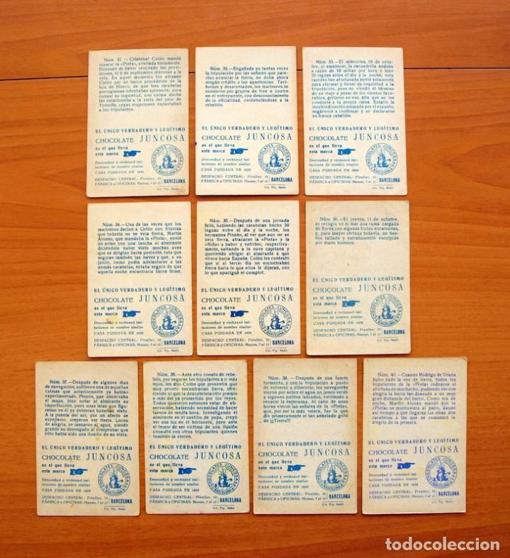 Coleccionismo Cromos antiguos: Cristobal Colón - Chocolates Juncosa - Colección completa 150 cromos - Ver fotos interiores - Foto 9 - 64652691