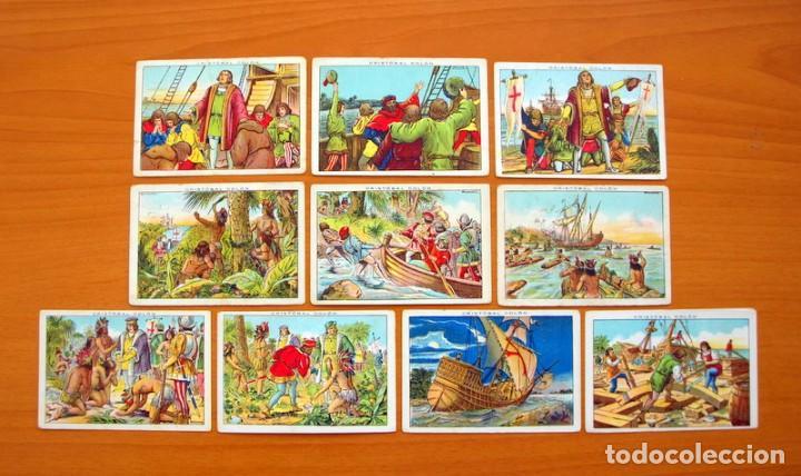 Coleccionismo Cromos antiguos: Cristobal Colón - Chocolates Juncosa - Colección completa 150 cromos - Ver fotos interiores - Foto 10 - 64652691