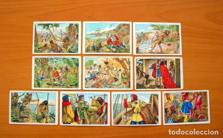 Coleccionismo Cromos antiguos: Cristobal Colón - Chocolates Juncosa - Colección completa 150 cromos - Ver fotos interiores - Foto 12 - 64652691