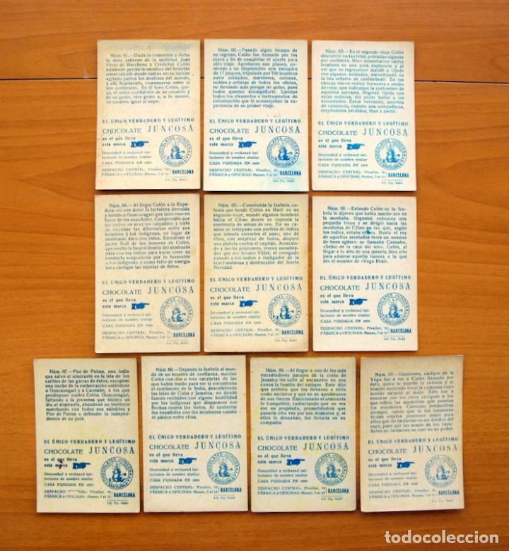 Coleccionismo Cromos antiguos: Cristobal Colón - Chocolates Juncosa - Colección completa 150 cromos - Ver fotos interiores - Foto 15 - 64652691