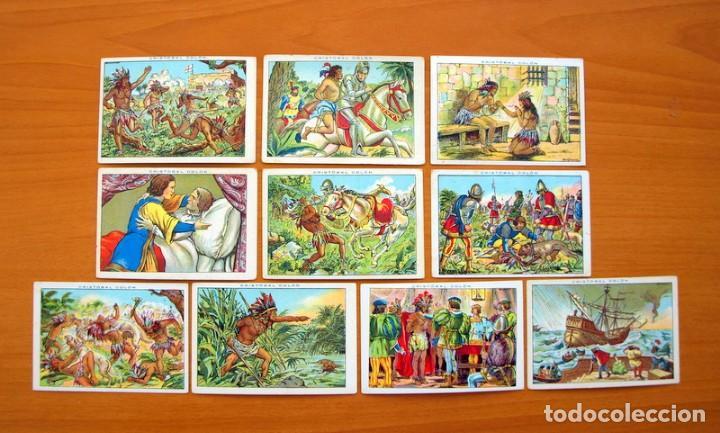 Coleccionismo Cromos antiguos: Cristobal Colón - Chocolates Juncosa - Colección completa 150 cromos - Ver fotos interiores - Foto 16 - 64652691