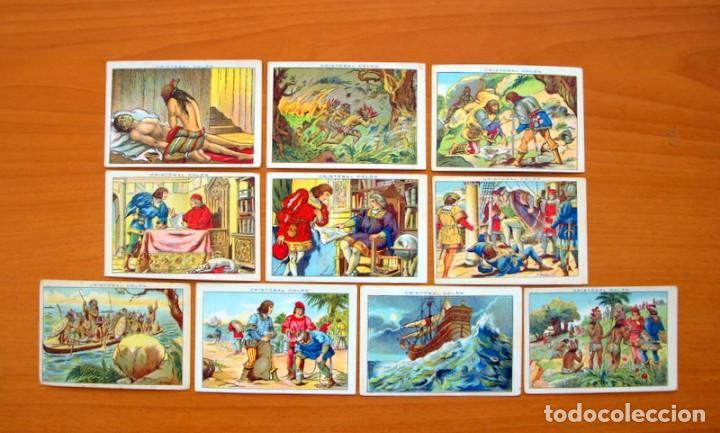 Coleccionismo Cromos antiguos: Cristobal Colón - Chocolates Juncosa - Colección completa 150 cromos - Ver fotos interiores - Foto 18 - 64652691