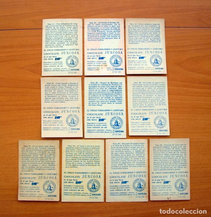 Coleccionismo Cromos antiguos: Cristobal Colón - Chocolates Juncosa - Colección completa 150 cromos - Ver fotos interiores - Foto 19 - 64652691