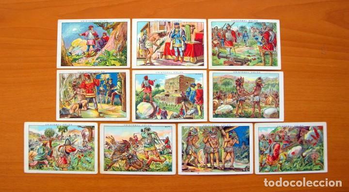 Coleccionismo Cromos antiguos: Cristobal Colón - Chocolates Juncosa - Colección completa 150 cromos - Ver fotos interiores - Foto 20 - 64652691