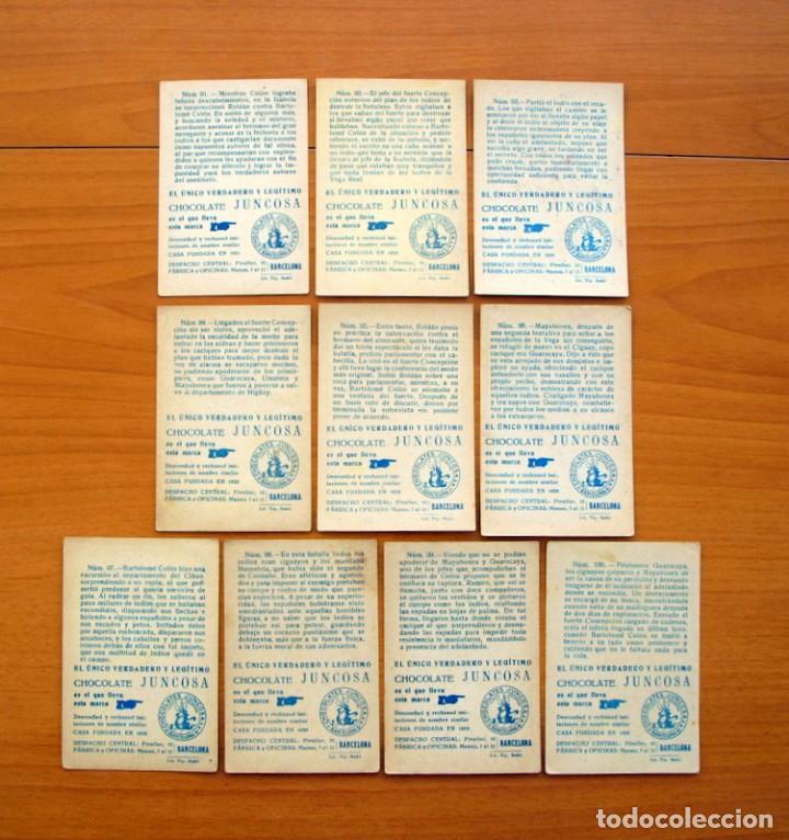 Coleccionismo Cromos antiguos: Cristobal Colón - Chocolates Juncosa - Colección completa 150 cromos - Ver fotos interiores - Foto 21 - 64652691