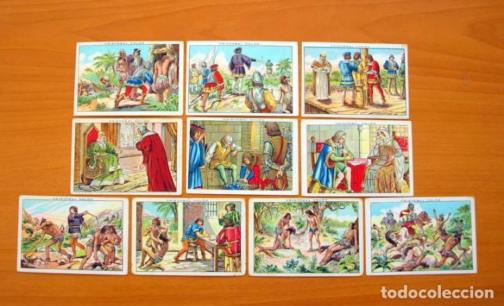 Coleccionismo Cromos antiguos: Cristobal Colón - Chocolates Juncosa - Colección completa 150 cromos - Ver fotos interiores - Foto 22 - 64652691