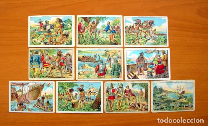 Coleccionismo Cromos antiguos: Cristobal Colón - Chocolates Juncosa - Colección completa 150 cromos - Ver fotos interiores - Foto 24 - 64652691