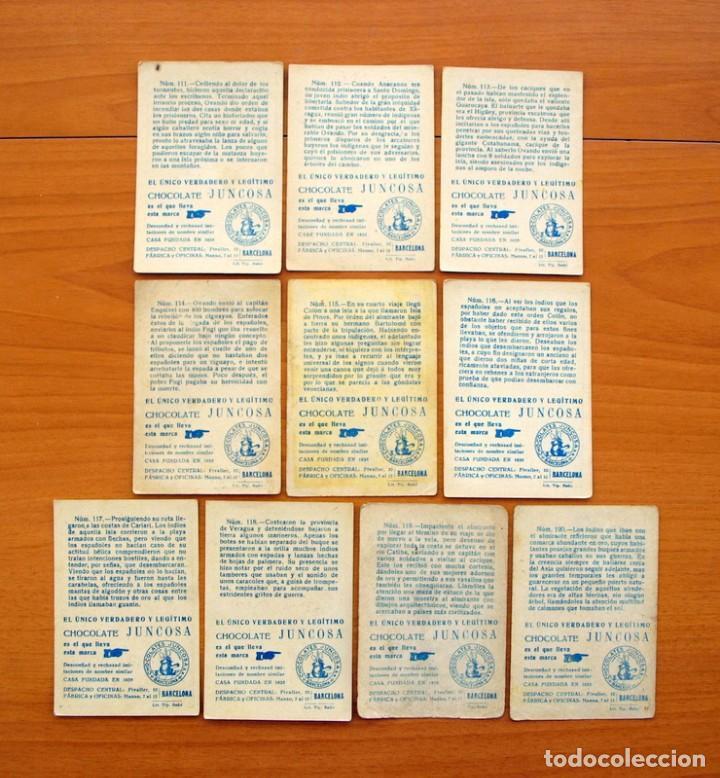 Coleccionismo Cromos antiguos: Cristobal Colón - Chocolates Juncosa - Colección completa 150 cromos - Ver fotos interiores - Foto 25 - 64652691