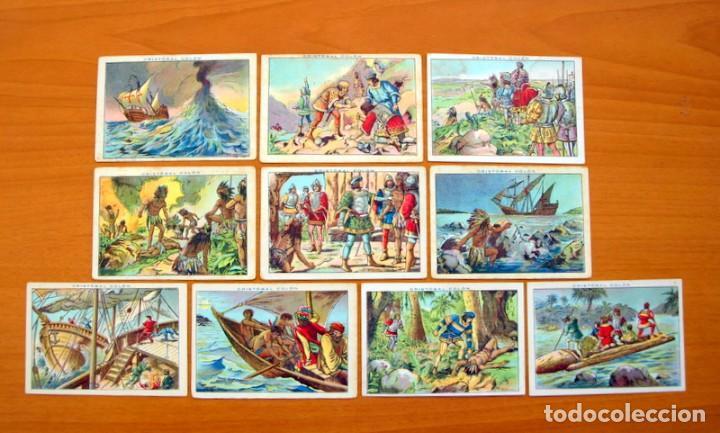Coleccionismo Cromos antiguos: Cristobal Colón - Chocolates Juncosa - Colección completa 150 cromos - Ver fotos interiores - Foto 26 - 64652691