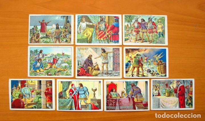 Coleccionismo Cromos antiguos: Cristobal Colón - Chocolates Juncosa - Colección completa 150 cromos - Ver fotos interiores - Foto 28 - 64652691