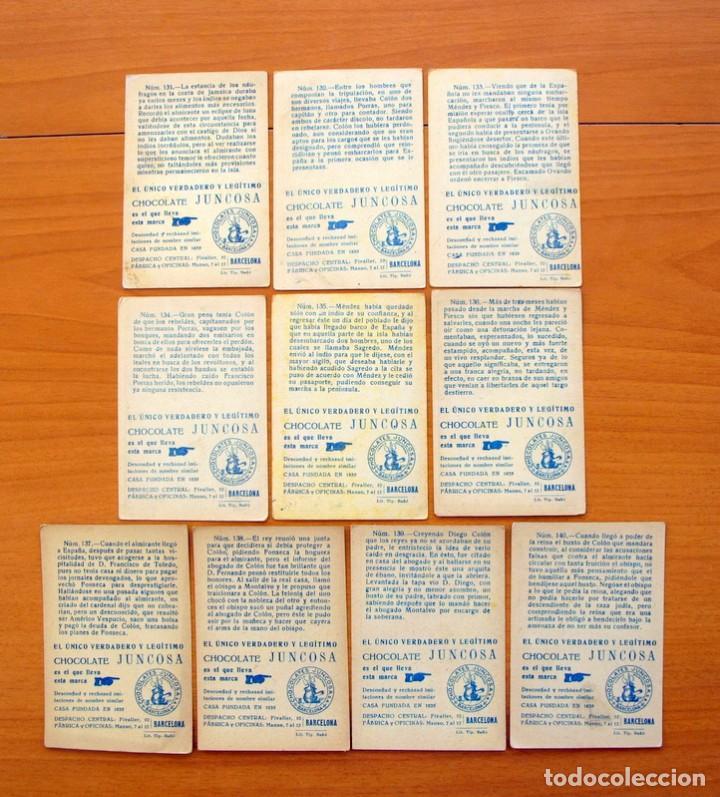 Coleccionismo Cromos antiguos: Cristobal Colón - Chocolates Juncosa - Colección completa 150 cromos - Ver fotos interiores - Foto 29 - 64652691