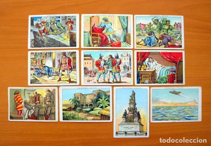 Coleccionismo Cromos antiguos: Cristobal Colón - Chocolates Juncosa - Colección completa 150 cromos - Ver fotos interiores - Foto 30 - 64652691