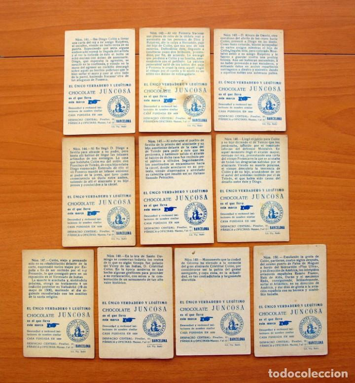 Coleccionismo Cromos antiguos: Cristobal Colón - Chocolates Juncosa - Colección completa 150 cromos - Ver fotos interiores - Foto 31 - 64652691