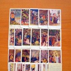 Coleccionismo Cromos antiguos: DON JUAN DE SERRALLONGA - COCOLATES AMATLLER - COLECCIÓN COMPLETA 48 CROMOS - VER FOTOS INTERIORES. Lote 64654043
