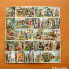 Coleccionismo Cromos antiguos: HISTORIA ROMANA, HISTOIRE ROMAINE - COLECCIÓN COMPLETA 60 CROMOS - VER FOTOS. Lote 65660634