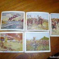 Coleccionismo Cromos antiguos: 15 CROMOS DE CHOCOLATES ANGELICAL - LA PRIMERA GUERRA EUROPEA. Lote 65784054