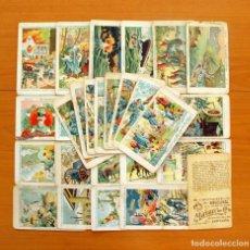 Coleccionismo Cromos antiguos: LA GUERRA EUROPEA - CHOCOLATES ANGELICAL - SERIE B - COMPLETA, 30 CROMOS - VER FOTOS. Lote 65819566