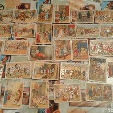 Coleccionismo Cromos antiguos: COLECCION DE CROMOS EL CID CAMPEADOR DE CHOCOLATES ESTEBAN SABATER. Lote 67175139