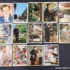 Coleccionismo Cromos antiguos: LOTE DE 14 CROMOS DISTINTOS POLLYANNA EDITORIAL BRUGUERA 1961 WALT DISNEY PRODUCTIONS. Lote 67535533