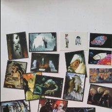 Coleccionismo Cromos antiguos: LOTE CROMOS STAR WARS PANINI 1996 Y DROIDS PACOSA DOS 1985 REF 1. Lote 67712993