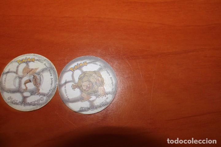 Coleccionismo Cromos antiguos: TAZOS POKEMON 2 MATUTANO NINTENDO - Foto 5 - 67889413