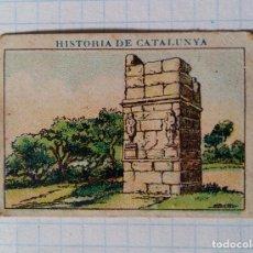 Coleccionismo Cromos antiguos: CROMO 4,5 X 3,2 CM, HISTORIA DE CATALUNYA, XOCOLATA JUNCOSA, SEPULCRE DELS ESCIPIONS, 141. Lote 69384765