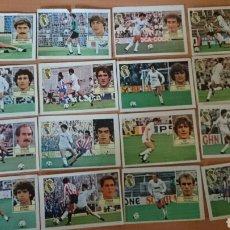 Coleccionismo Cromos antiguos: LOTE DE CROMOS DEL R.MADRID AÑO 1984/85 (CON MICHEL FICHAJE N6). Lote 69832873