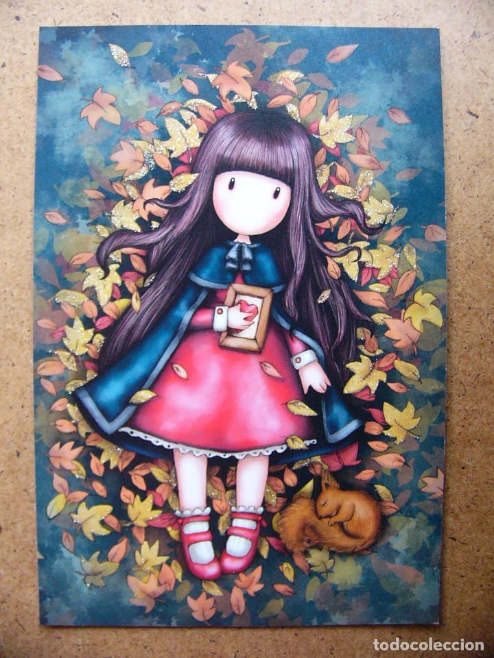 Cromo Postal Photocards Nº 1 Muñeca Gorjuss Col Sold Through Direct Sale 70254497