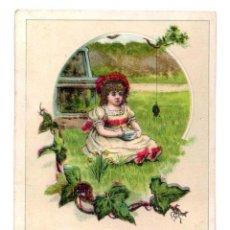 Coleccionismo Cromos antiguos: CROMO PUBLICITARIO CHOCOLAT POULAIN 7 X 10 CM. Lote 70509049