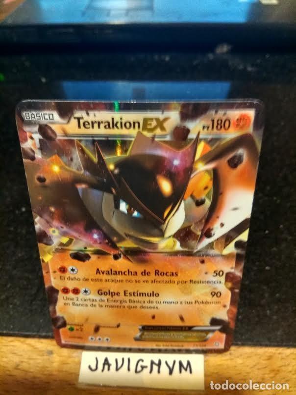 Pokemon Terrakion Ex En Español Sold Through Direct Sale 70589109