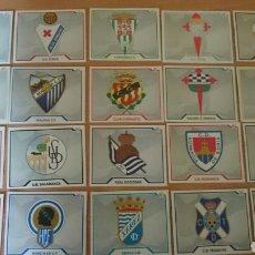 Coleccionismo Cromos antiguos: CROMOS ED.ESTE AÑO 2007 /08 ESCUDOS . Lote 71595065